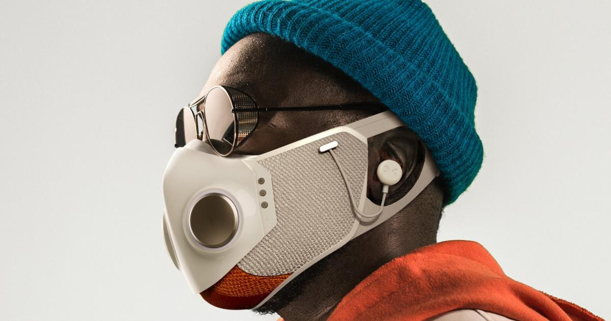 The Quirky FFP2 Mask with Headphones is announced by will.i.am