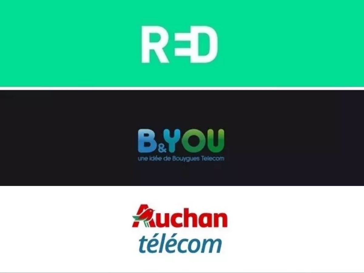100 GB package starting at € 5: RED, B & You or Auchan Telecom, which promotion do you choose?