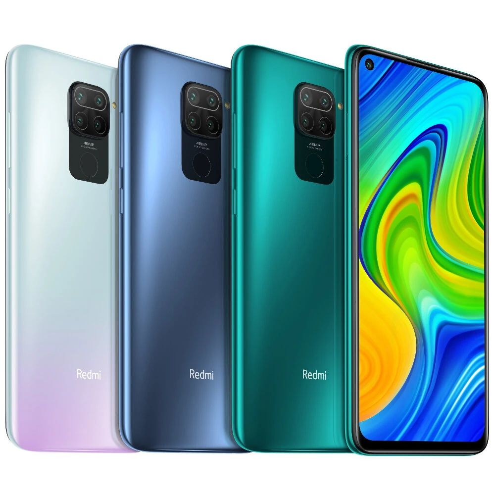Xiaomi Redmi Note 9 smartphone, in a 128 GB French model, at 118 euros