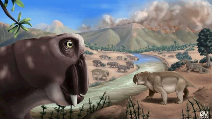 The largest mass extinctions on Earth lasted 10 times longer than on the oceans
