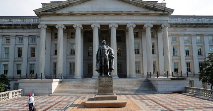 With treasury bond yields rising, the market is focusing on a 20-year debt auction