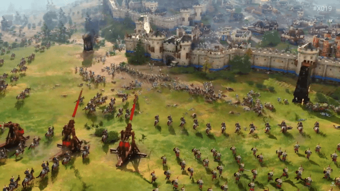 Age of Empires 4: Microsoft is showing its first gameplay scenes
