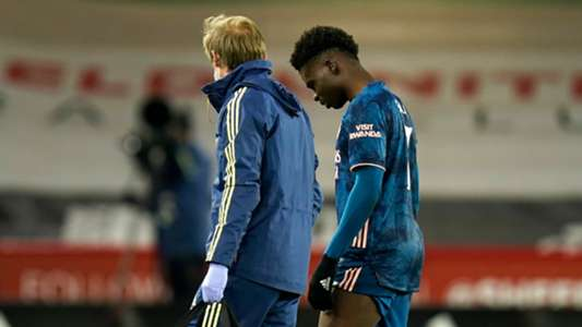 Arsenal lose Saka due to injury to Sheffield