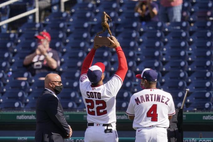 Dominicano Juan Soto da triunfo a Nationales sobre Braves en debut de Washington