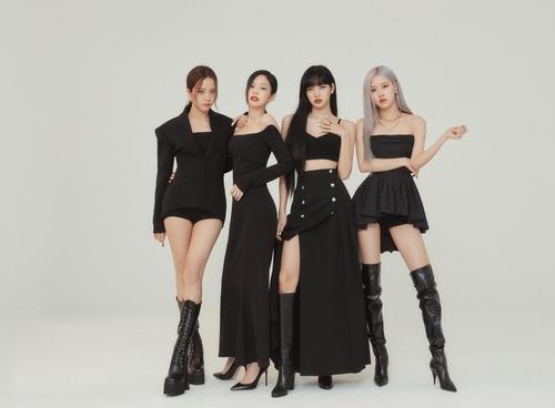 Groupe Blackpink. (Photo fournie par YG Entertainment. Revente et archivage interdits)