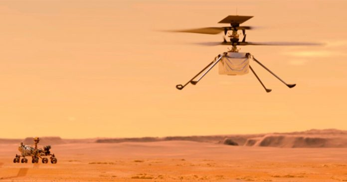 NASA will attempt the first flight on Mars for an Ingenuity helicopter next Monday |  Jimi