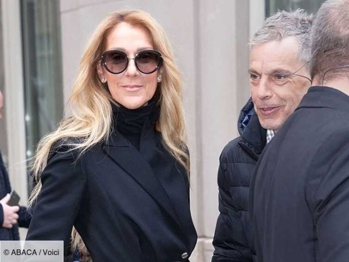 Photo of Celine Dion in Mourning: Her moving tribute to singer Michelle Louvain who passed away at the age of 83