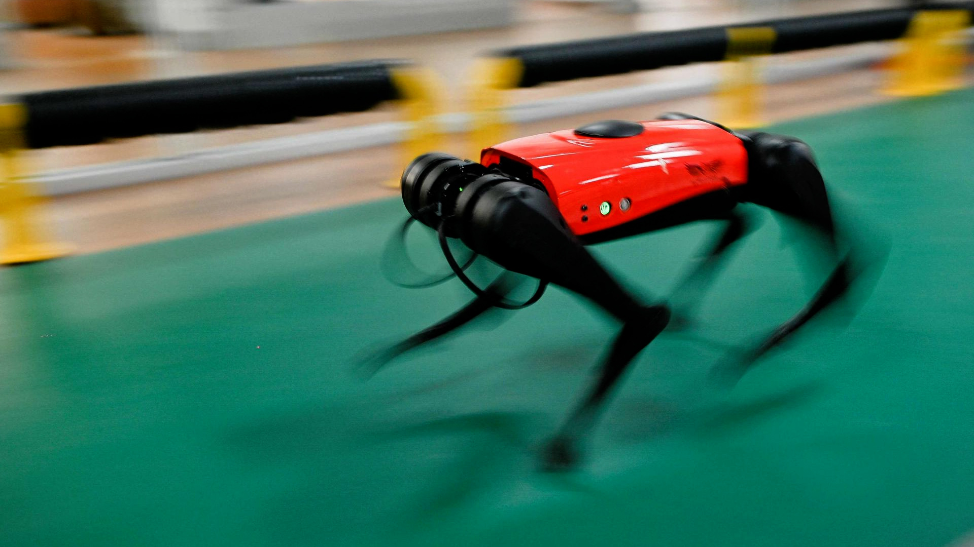 Video.  AlphaDog: Smart and super fast, this 2000 euro robot dog is all the rage in China