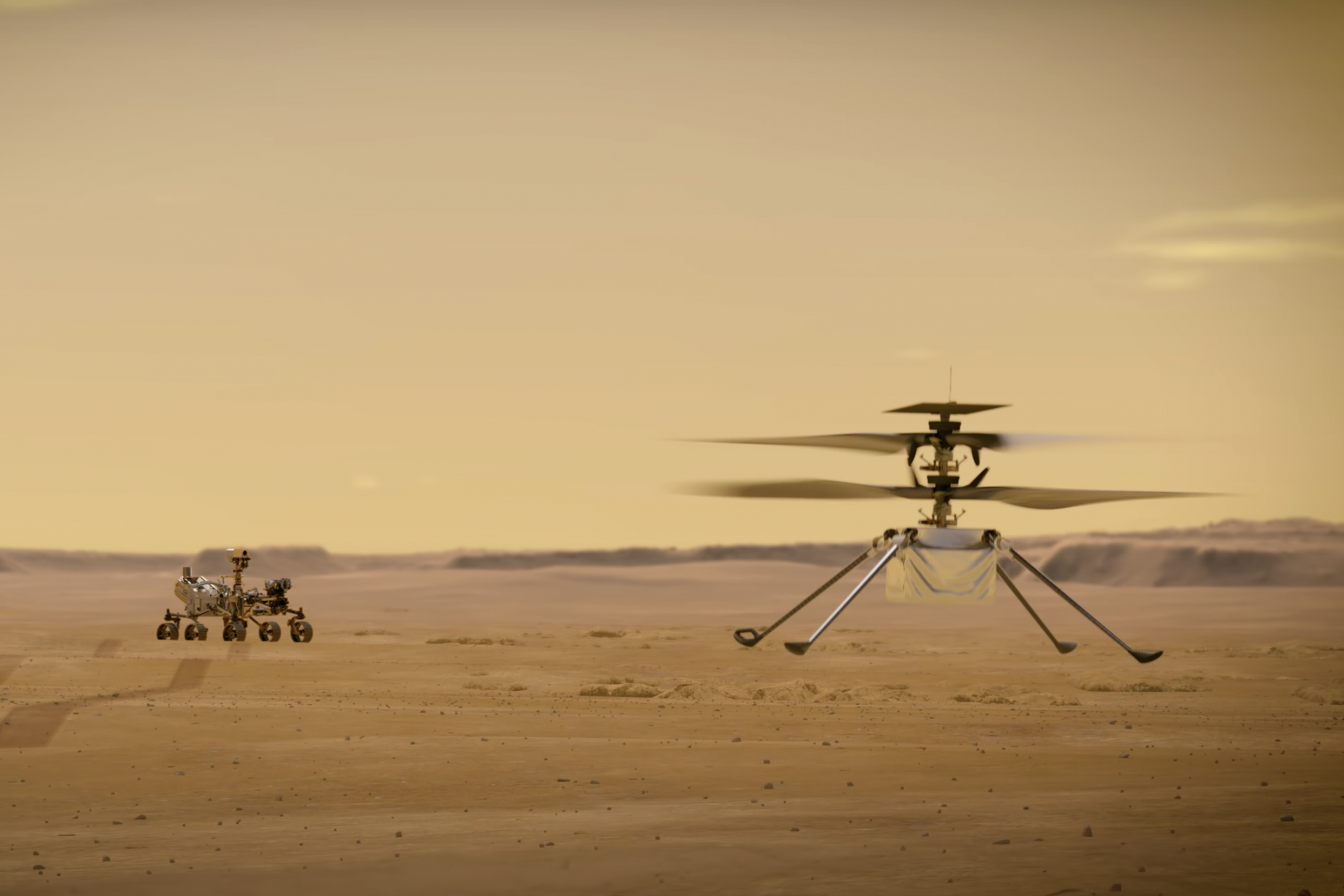 With creativity on Mars, NASA wants to prove that it is possible to fly elsewhere
