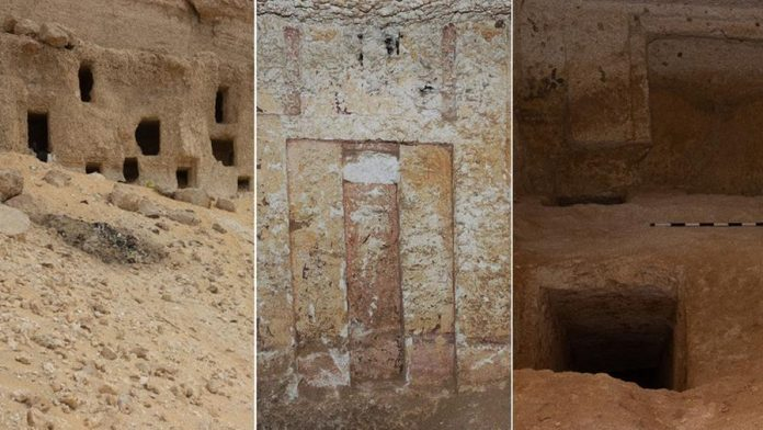 Egypt discovers 250 graves dating back 4,200 years, even with a
