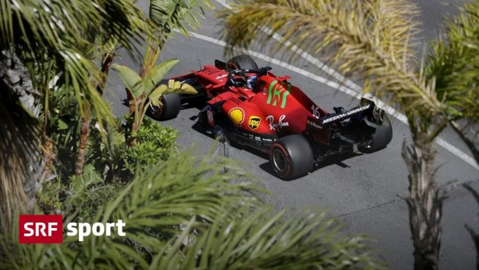 Training in Monaco - Leclerc with the best time after damage to the transmission - sport