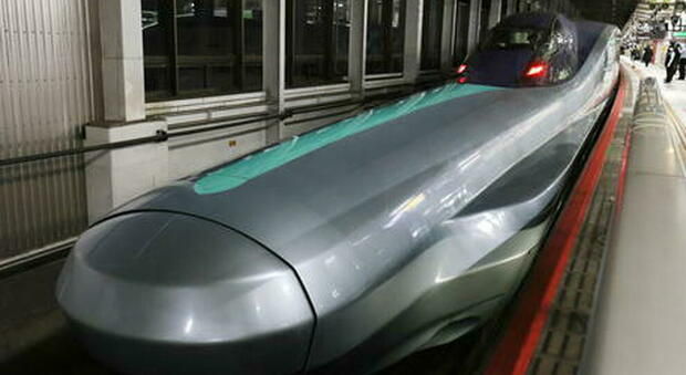 The driver went to the bathroom and the train was delayed a minute: the investigation was opened in Japan