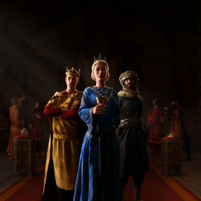 The Third Crusader Kings: The entourage left with the first expansion of the royal court