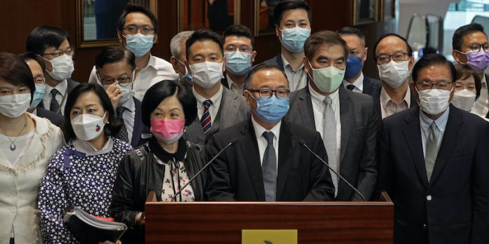 Hong Kong agreed to a controversial electoral reform, thanks to which China will control its elections and parliament