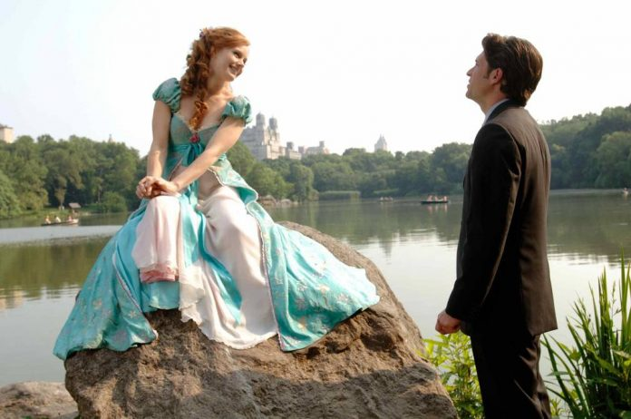 Amy Adams and Patrick Dempsey reprise the sequel to Disney's