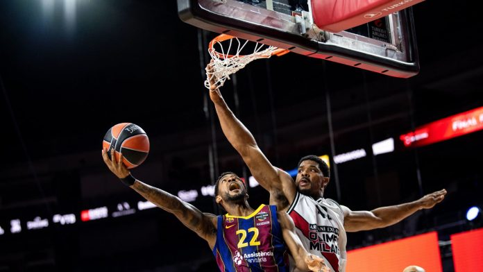 Barcelona against Ives Istanbul in the final
