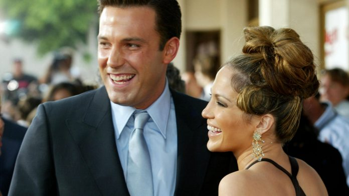 Ben Affleck and Jennifer Lopez appear together in Miami