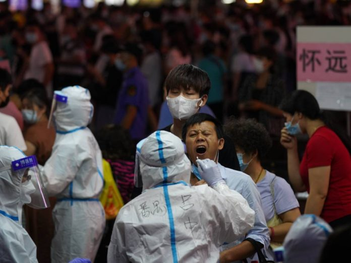 China is frightening again: Guangzhou is armored for viruses