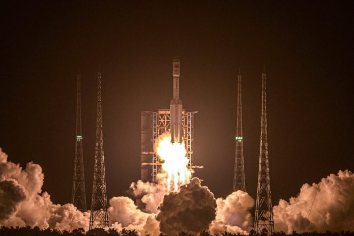 China is sending a cargo ship loaded with equipment for the future space station