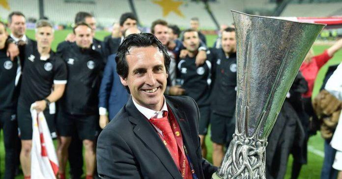 Coach Uni Emery Mr. Europa League