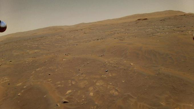 Ingenuity vuela tambaleante en Marte por falla en navegación