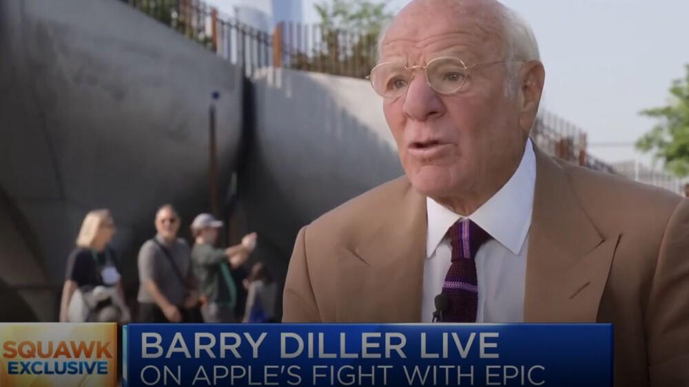 Barry Diller apple