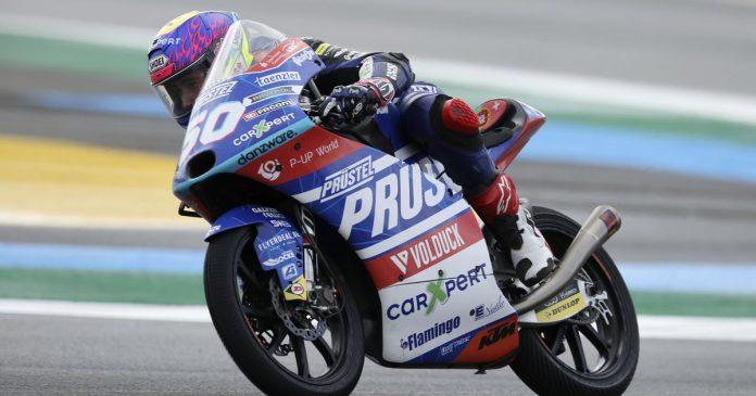 Moto3: Jason Dupasquier ran overnight - rts.ch