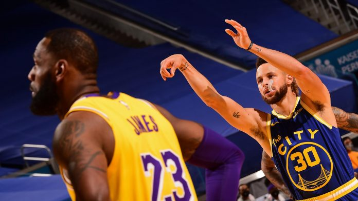 NBA - Lakers won't shy away from the game, they'll take on the cool Stephen Curry!