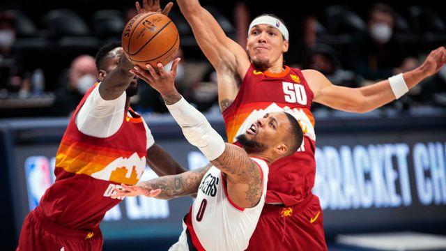 NBA Playoffs: The Blazers lose despite Lillard's concert