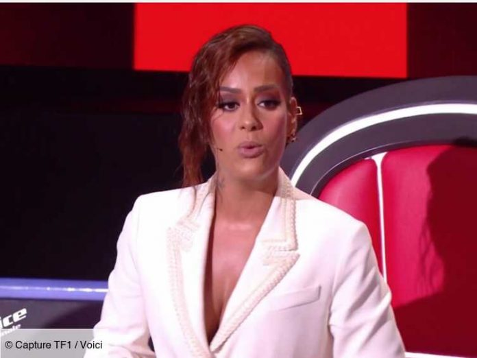PHOTO Amel Bent: The moving message his daughters recorded in the final of The Voice