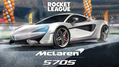 Rocket League: A cool silver McLaren 570S you pay for free this week