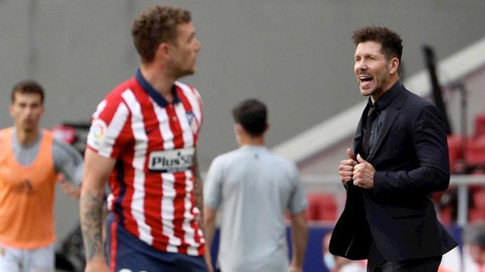 "Simeone: ""Elegimos esta profesión para llegar a estos momentos"""