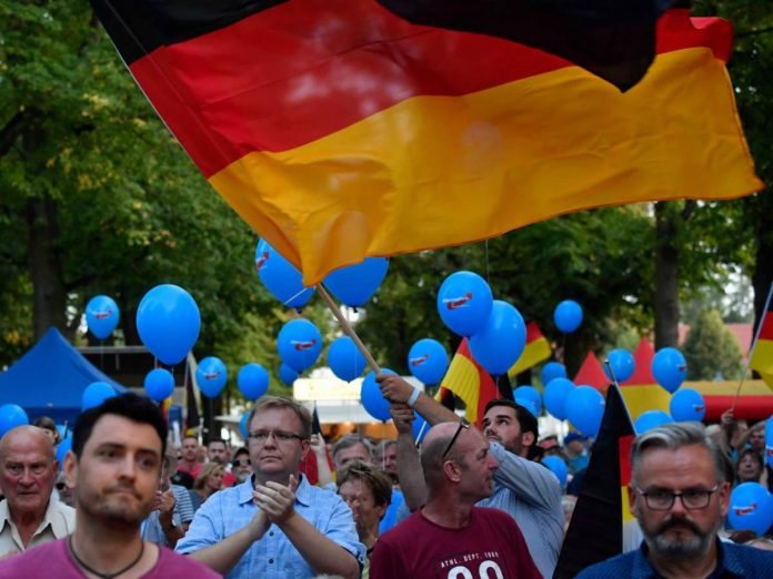 The ground that makes Merkel shudder: the right flies into the polls