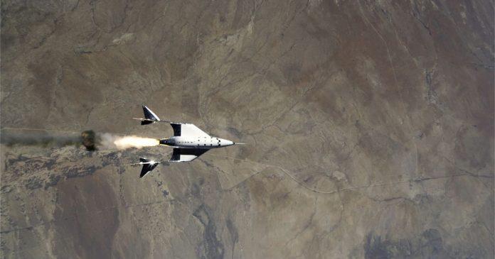 Virgin Galactic launches successful test flight from New Mexico - El Financio