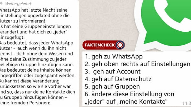 WhatsApp: These messages are intended to destabilize the users.
