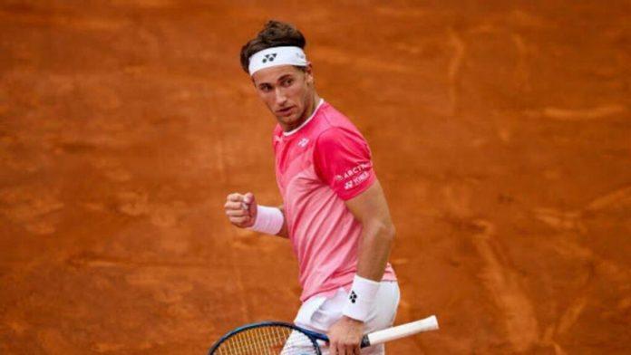 L'étoile montante Casper Ruud parle du fait qu'il soit un outsider à Roland-Garros
