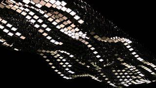 """Composition """"Liquid Sky"""" By light artist Christopher Boder (Source: darkmatter.berlin)"""