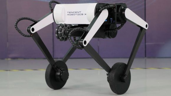 Meet Olly, a bipedal robot on wheels capable of somersaulting (+ video)