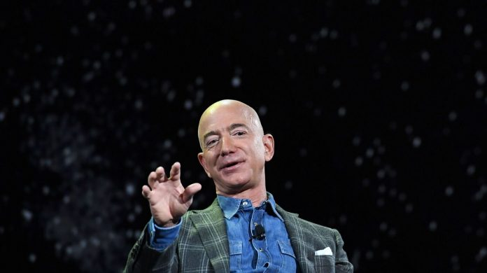 Jeff Bezos goes into space (for a few minutes): NPR