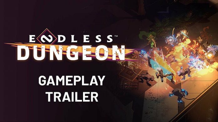 The first gameplay trailer for Endless Dungeon