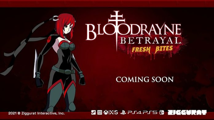 BloodRayne's Betrayal: Fresh Bites angekündigt