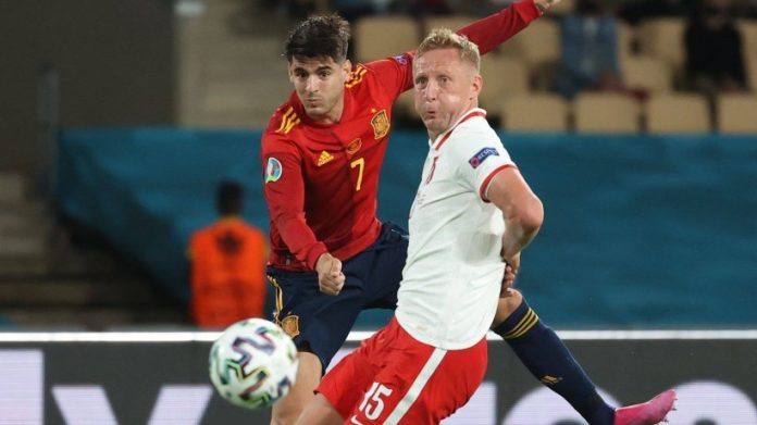 EM 2021: Surprise Spain fans!  Crazy scenes keep Poland in the championship