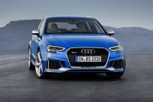 The second generation of the Audi RS3