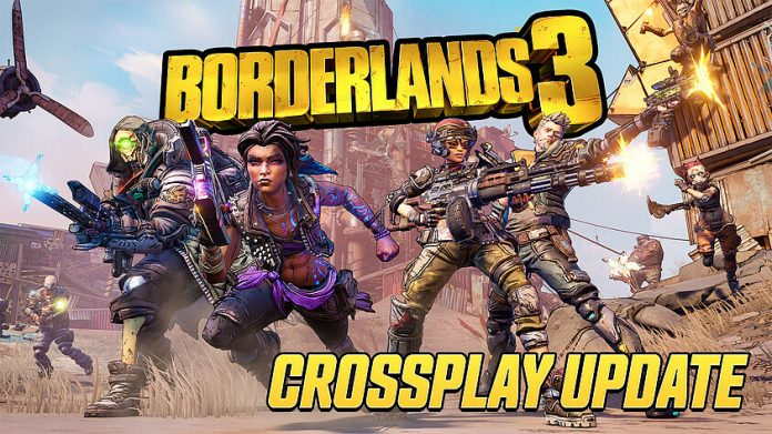 Borderlands 3 crossplay update available