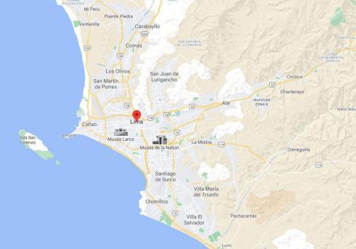 6 An earthquake shakes the capital of Peru, Lima