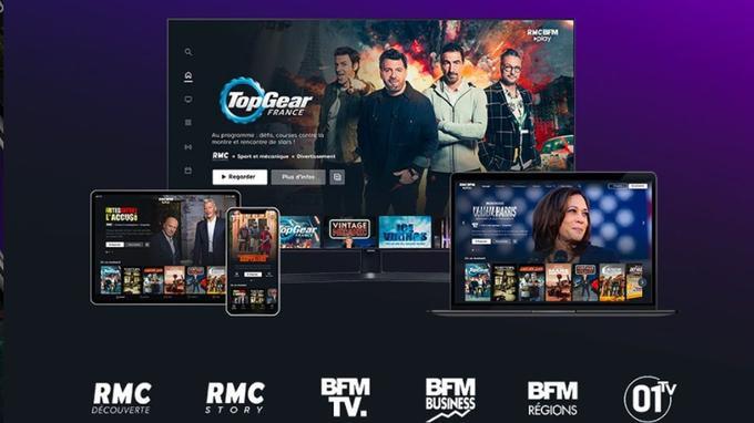 RMC BFM Play: le groupe Altice Média lance à son tour sa plateforme VOD