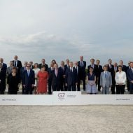 G7 finance ministers meeting in Chantilly, France, in July 2019