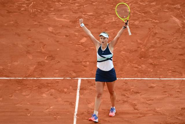 Barbora Gregikova in the Roland-Gros final after an epic victory over Maria Chakari