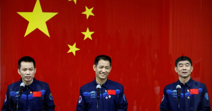 China will launch its first manned space mission since 2016 tomorrow