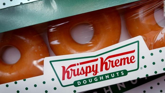Crispy Cream has donated 1.5 million donuts to vaccinators